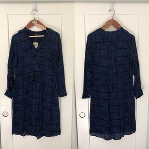 NWT Lucky Brand Shirt Dress 1X